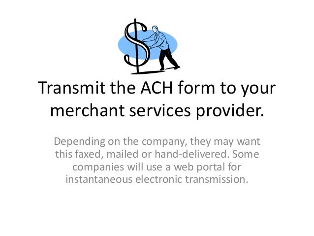 how to receive ach payments
