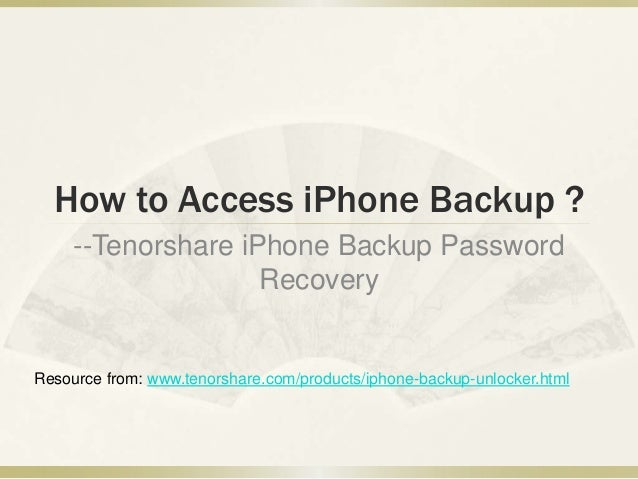 how to change iphone backup password