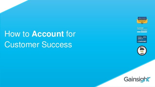 How to Account for Customer Success