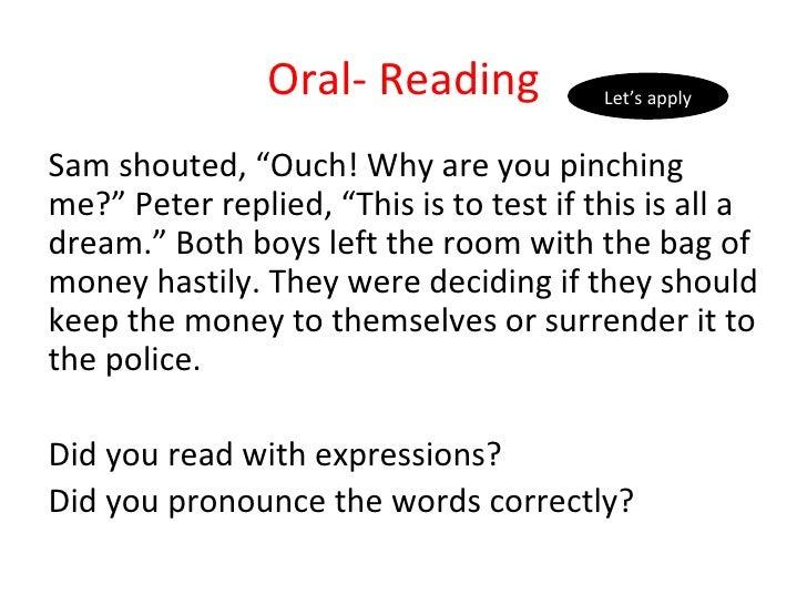 Oral English Practice