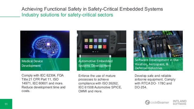embedded software development for safety critical systems pdf