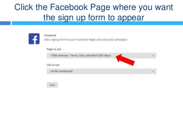 how to add a form to facebook