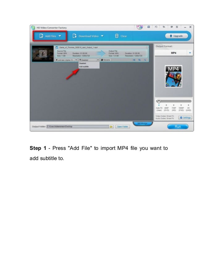 How to add external srt subtitle to mp4 7 ccuart Gallery