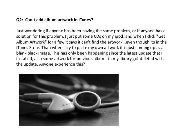 how to download album artwork in itunes