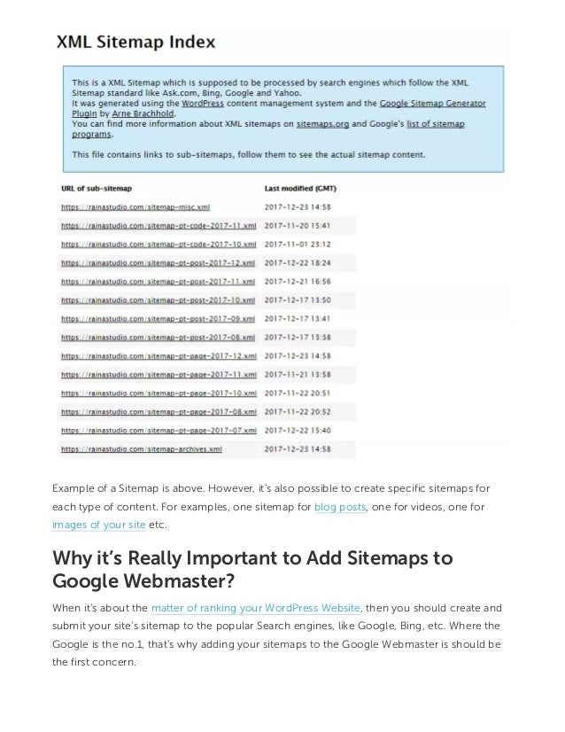 How To Add Sitemaps Google Webmaster