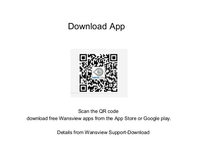 How to add Wansview indoor cameras via wifi mode?