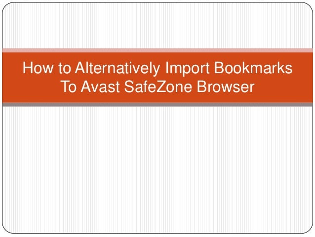 how to use avast safezone browser