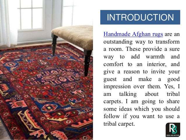 How to amplify the beauty of a space using afghan rugs and kilims