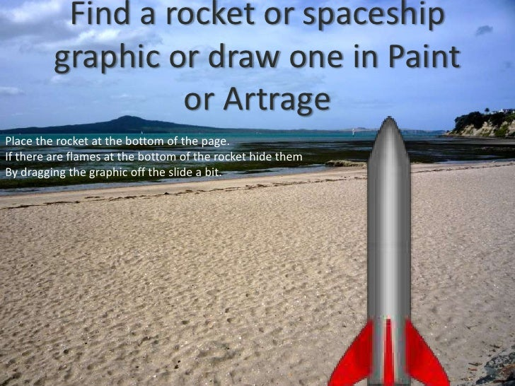 How to animate spaceships Slide 3