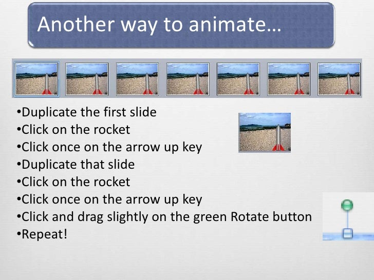 <ul><li>Duplicate the first slide