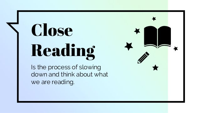 How to Annotate - Close Reading Slide 2