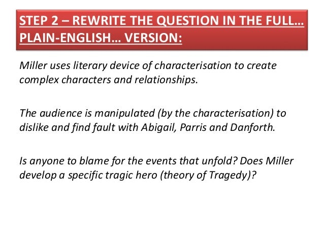 crucible essay topics