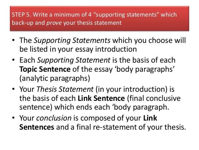 profile essay questions
