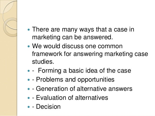 marketing case studies for interviews Master case interviews for mckinsey, bcg and bain - detailed case interview frameworks and interactive sample case interviews via unique hd video tutorials.