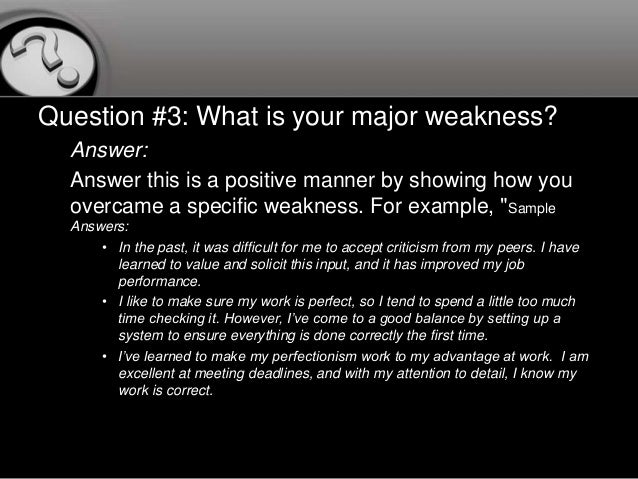 how to answer the question what are your strengths