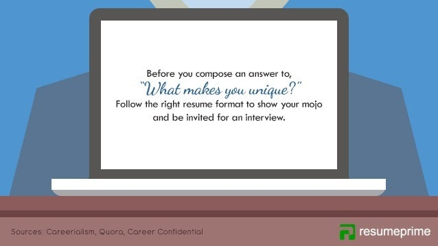 how to answer  u201cwhat makes you unique u201d in a job interview