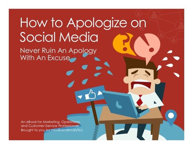 How to apologize on social media how to apologize on social media an ebook for marketing operations and customer service ccuart Images