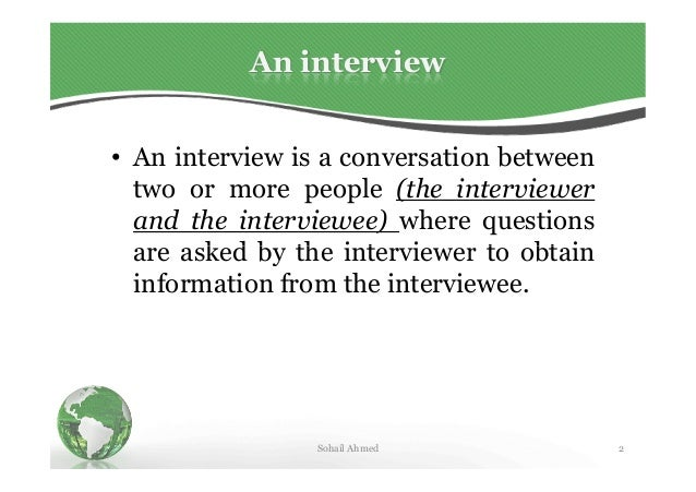 How to appear in an interview by sohail ahmed solangi Slide 2