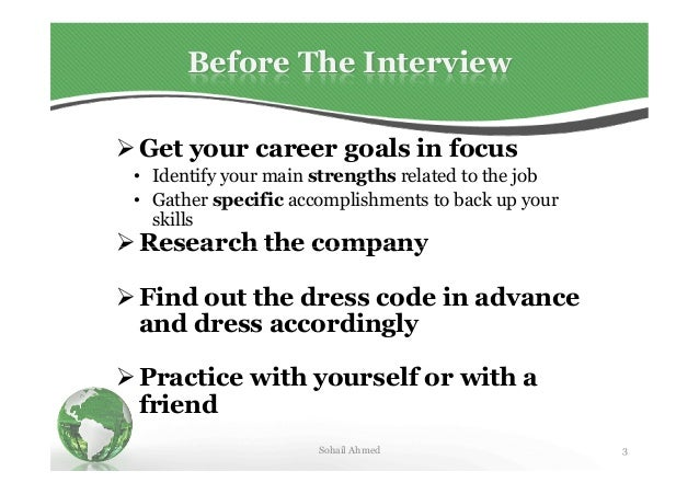 How to appear in an interview by sohail ahmed solangi Slide 3