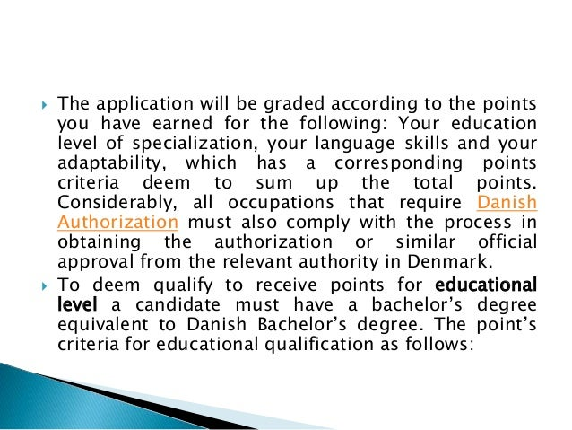 How To Apply For Green Card Scheme In Denmark