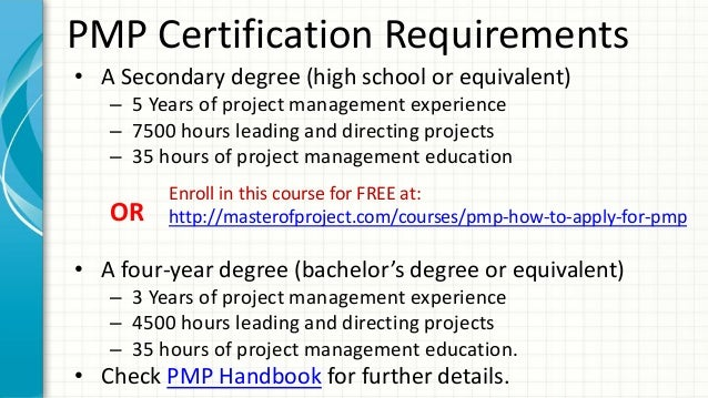 How to Apply PMI PMP Certification Exam