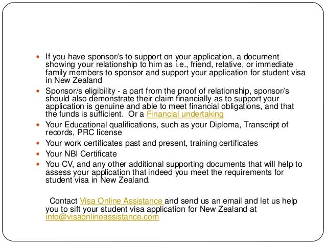 How to apply for student visa in nz from philippines 6 spiritdancerdesigns Image collections