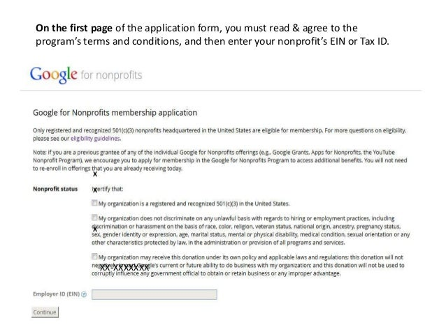 """How to Apply for the """"Google for Nonprofits"""" Program"""