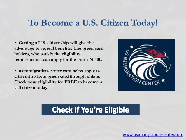 How To Apply for U.S. Citizenship