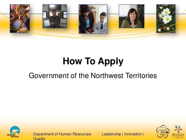 Department of Human Resources Leadership | Innovation |Department of Human Resources Leadership | Innovation | How To Appl...