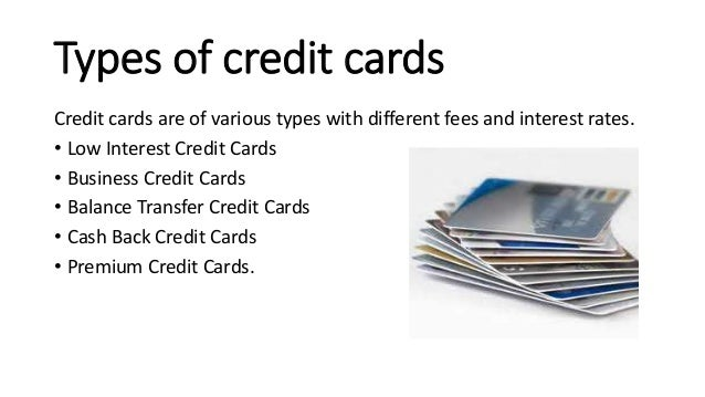 How to apply online for a credit card 3 types of credit cards credit cards reheart Image collections
