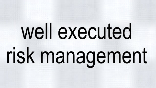 How to apply risk management to IT