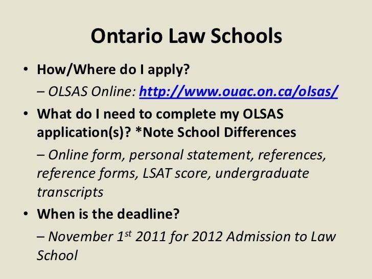 western law admissions