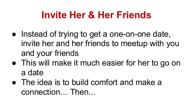 how to invite a girl for date