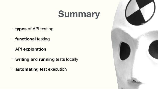 How to Automate API Testing Slide 2