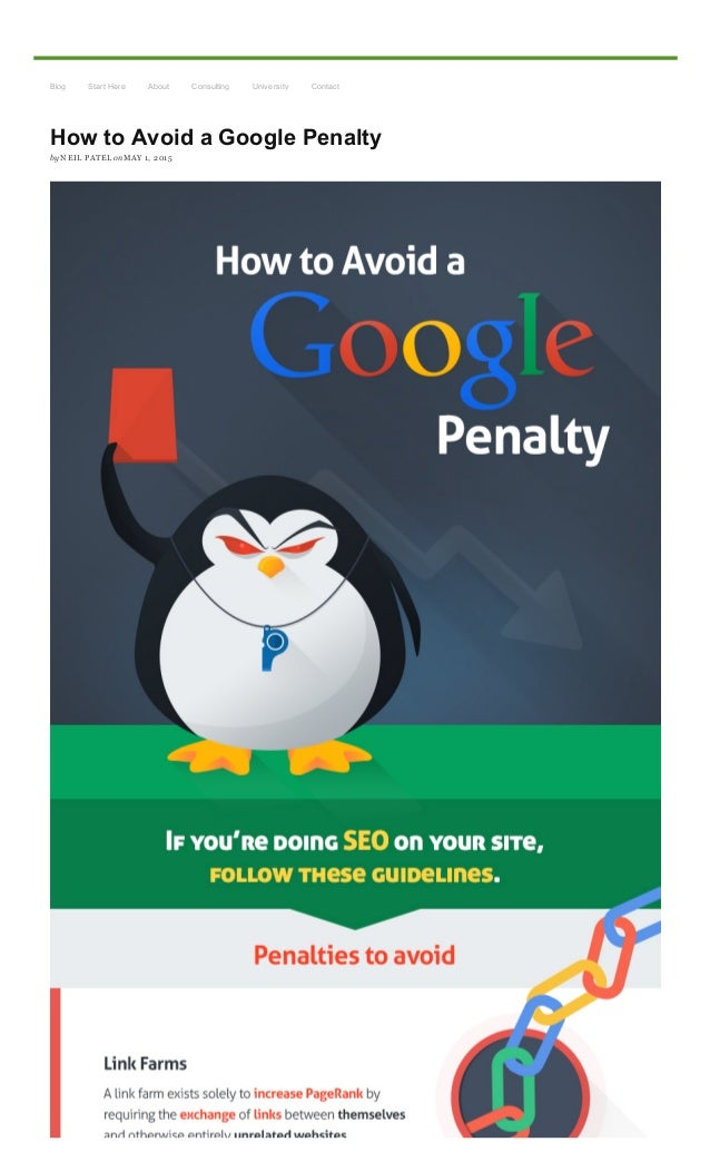 5/1/2015 HowtoAvoidaGooglePenalty http://www.quicksprout.com/2015/05/01/howtoavoidagooglepenalty/?display=wide 1...