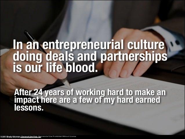 How to avoid bad business partnerships Slide 2