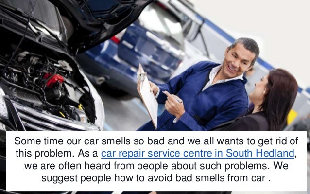 how to get rid of bad smell from car