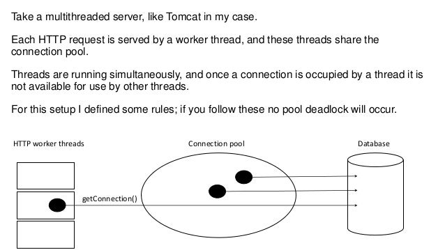 How to avoid connection pool deadlock