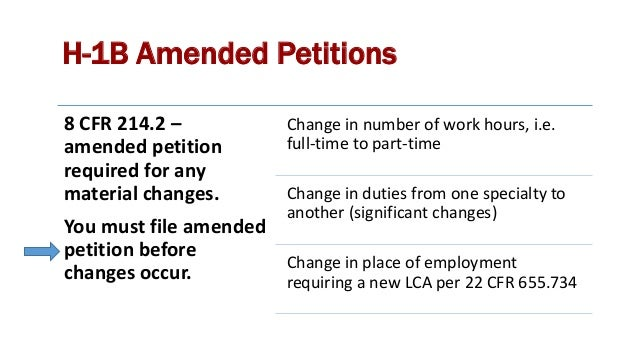 Labor Condition Application Rules