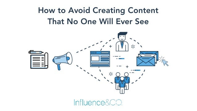 How to Avoid Creating Content 