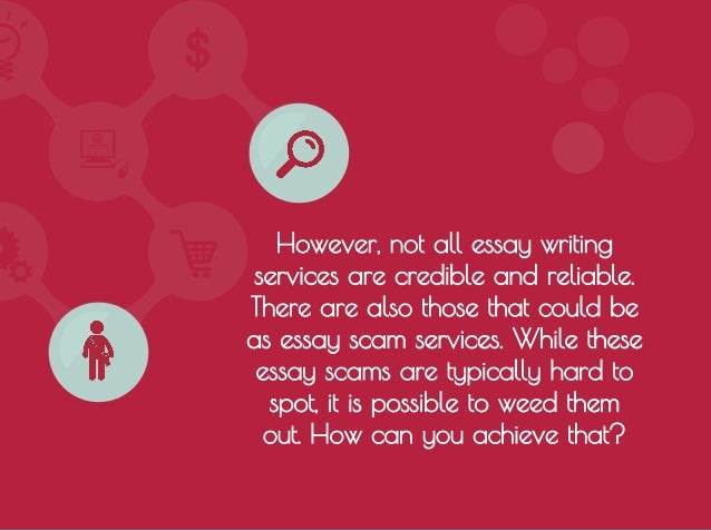 how to avoid essay scam services 4 however not all essay