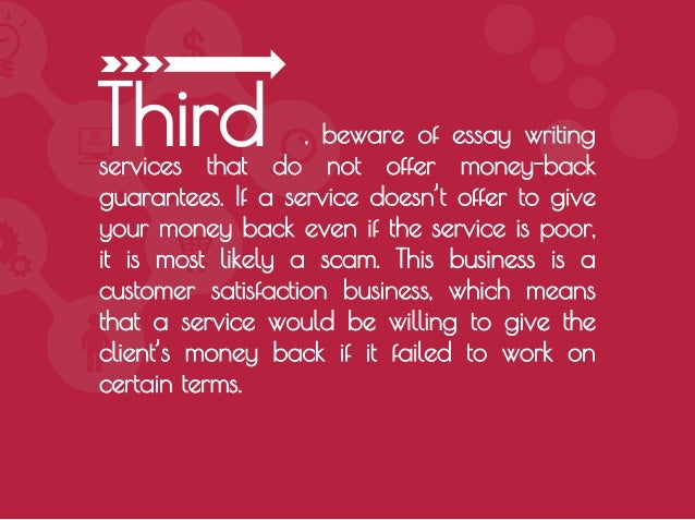 how to avoid essay scam services second 7 beware of essay