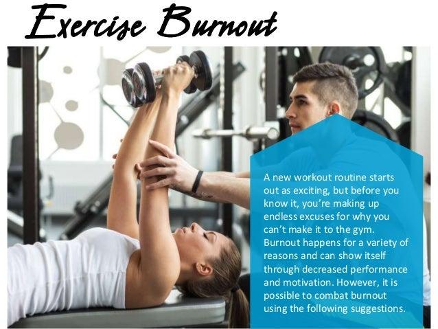 How To Avoid Exercise Burnout Slide 2