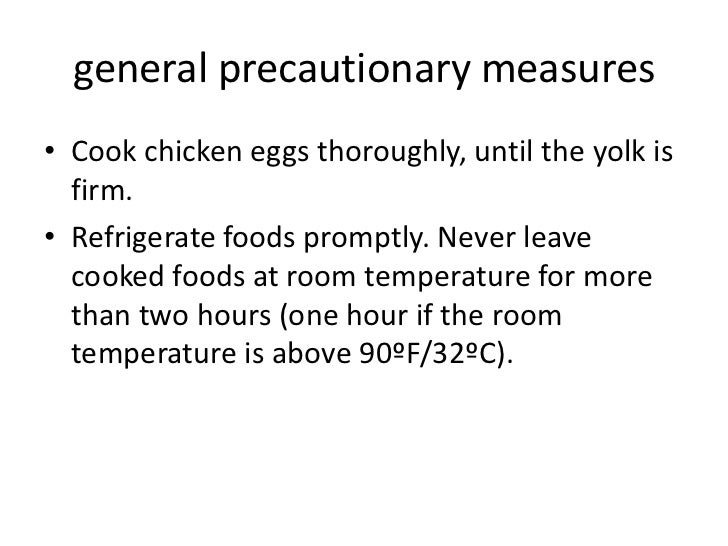 how to avoid salmonella poisoning