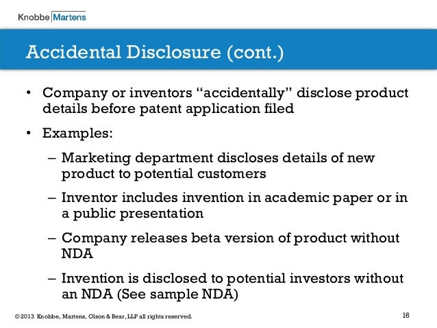 how to avoid patent issue