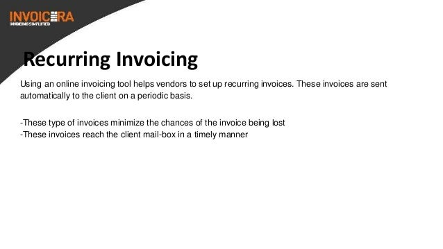 8. Recurring Invoicing Using An ...  How To Type An Invoice