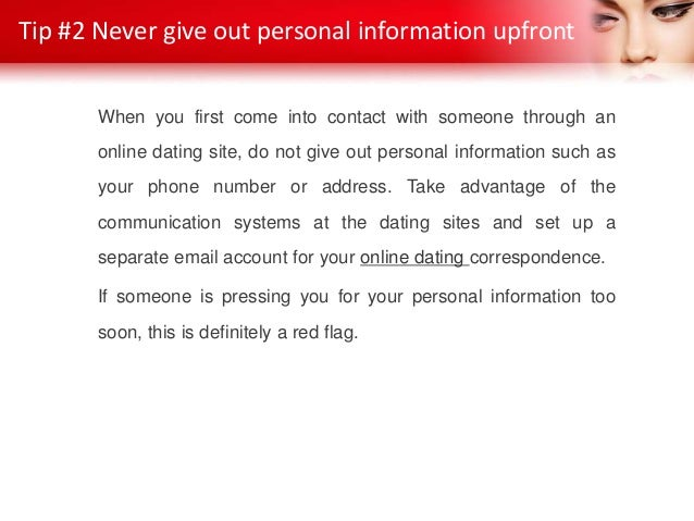 Online dating email red flags