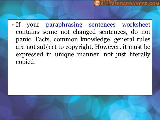 reword essay plagarism
