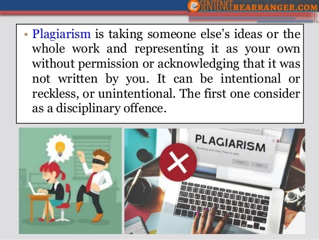 How to Avoid Plagiarism Generator Using Sentence Changer – Avoiding Plagiarism Worksheet