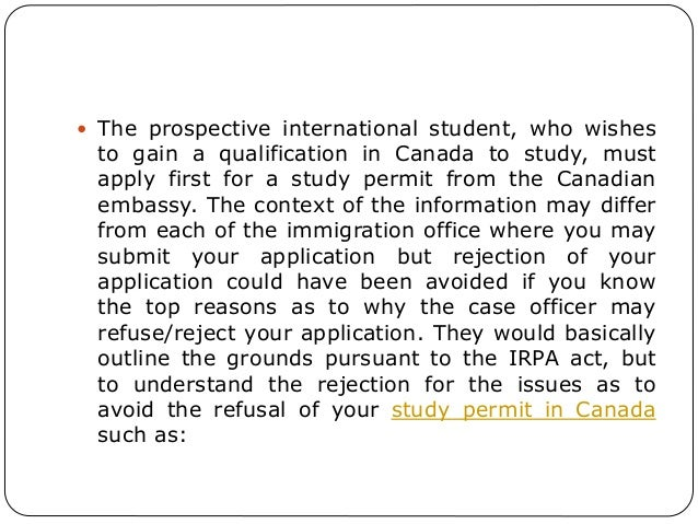 Canada Study Permit - Immigroup - We Are Immigration Law